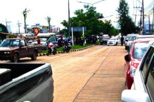 Bomb Scare in Khon Kaen