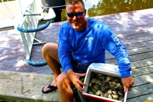 How To Catch Scallops…A Hometown Post