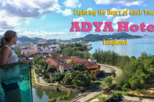Exploring Kuah Town From the ADYA Hotel Langkawi