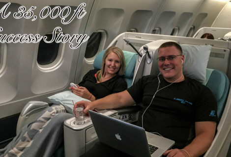 Dumb Enough To Keep Going: A 35,000 ft Success Story