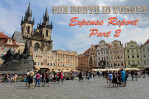 Cost of Traveling Europe For a Month: Part 2 of 2
