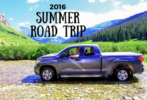 Our Road Trip Plans For The Summer